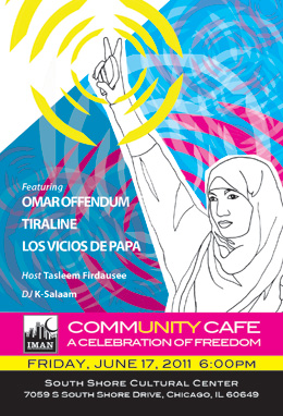 Community Cafe Flyer
