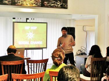 Asad Presenting in Pakistan