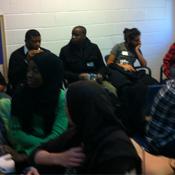 projectREACH icebreaker at the Organizing Training