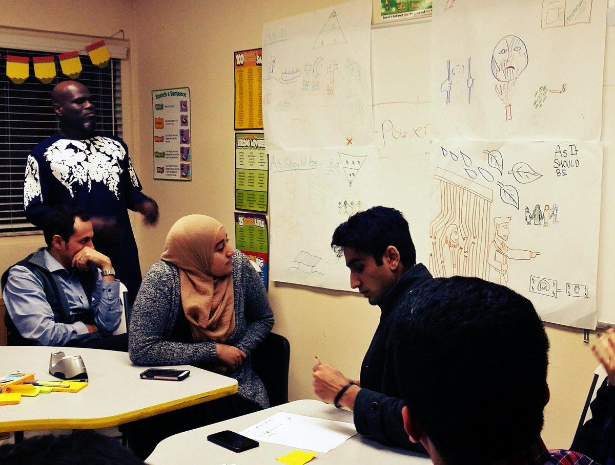 IMAN Organizers Train Multigenerational LA Cohort