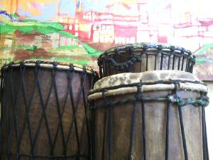 Drumming and Storytelling
