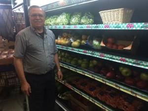 Fresh produce store