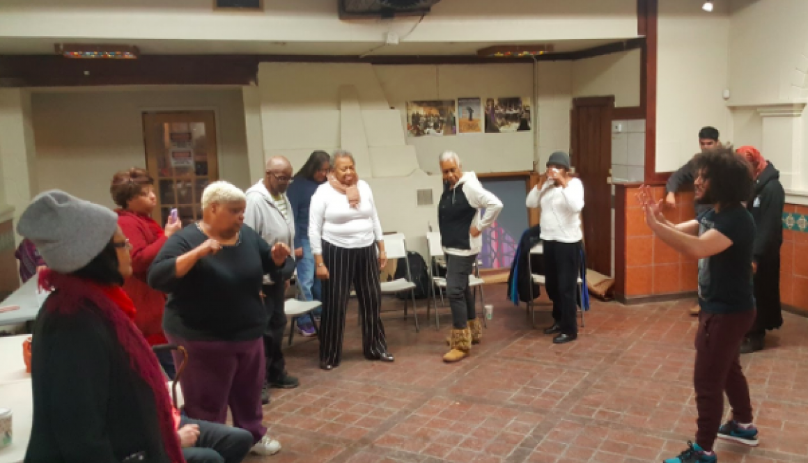 Local Seniors Learn Self-Defense