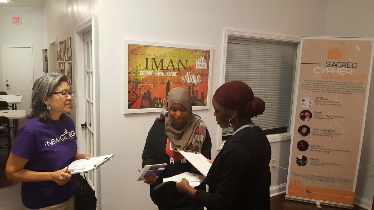 Reflections: IMAN ATL Gets Out the Vote
